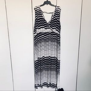 Lane Bryant Geo Maxi Dress Size 22/24